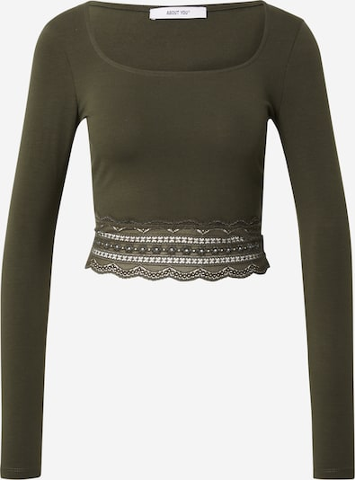 ABOUT YOU Shirt 'Ashley' in Khaki, Item view