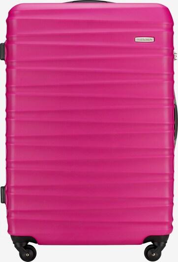Wittchen Hartschalenkoffer 'GROOVE Line' in pink, Produktansicht