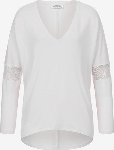 Cotton Candy Langarmshirt in weiß, Produktansicht