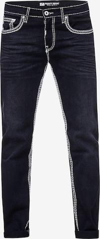 Rusty Neal Jeans 'LEVIN 7' in Schwarz