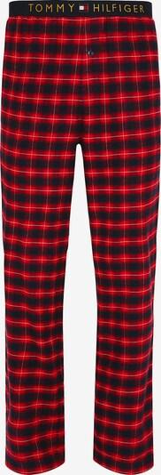 TOMMY HILFIGER Schlafanzughose in rot / schwarz, Produktansicht