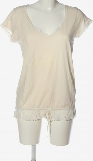 Lucky Brand V-Ausschnitt-Shirt in M in creme / wollweiß, Produktansicht