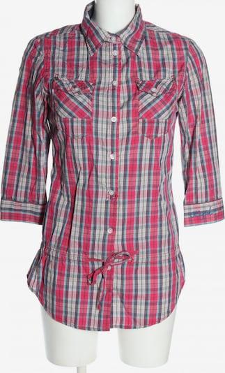 Kuyichi Hemd-Bluse in S in blau / hellgrau / pink, Produktansicht