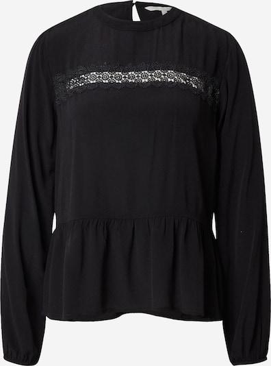 TOM TAILOR DENIM Blusen & Shirts Peplum Bluse in schwarz, Produktansicht