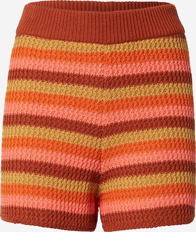 LeGer by Lena Gercke Pantalon 'Kitty' en marron / jaune / orange, Vue avec produit