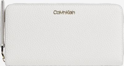 Calvin Klein Portemonnee in de kleur Goud / Offwhite, Productweergave