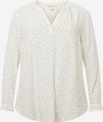Esprit Curves Bluse in Weiß