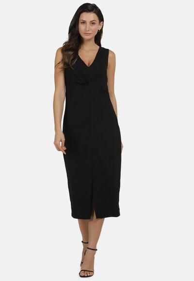 usha WHITE LABEL Kleid in schwarz: Frontalansicht