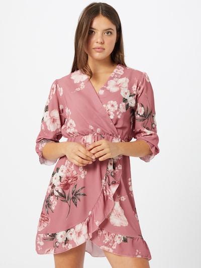 Sublevel Košilové šaty - pink / bílá, Model/ka