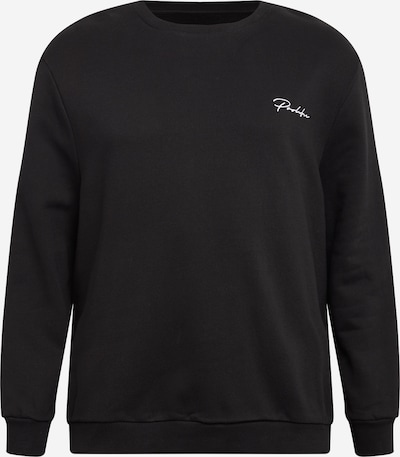 River Island Big & Tall Sweatshirt in black / white, Item view