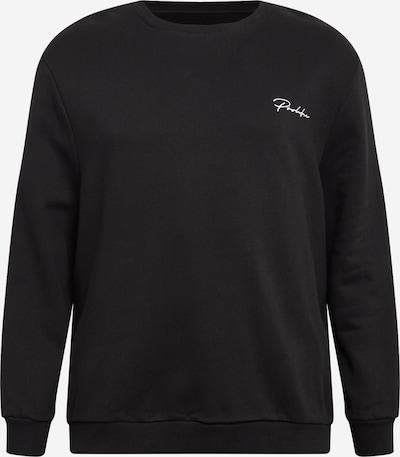 Megztinis be užsegimo iš River Island Big & Tall , spalva - juoda / balta, Prekių apžvalga