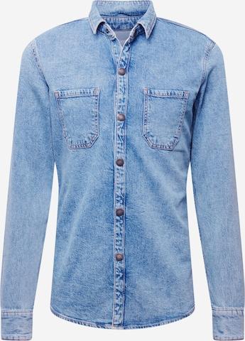 Camicia di Q/S by s.Oliver in blu