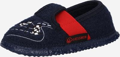 GIESSWEIN Mājas apavi 'Teschendorf', krāsa - zils / naktszils / sarkans / melns / balts, Preces skats
