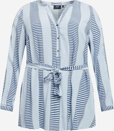 Zizzi Bluza 'MLEXI' u plava / svijetloplava / bijela, Pregled proizvoda