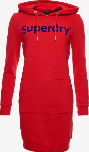 Superdry Robe en bleu violet / rouge feu, Vue avec produit