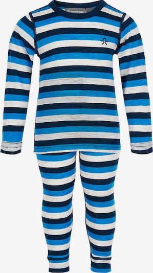 COLOR KIDS Funktionsunterwäsche in blau / schwarz / weiß, Produktansicht