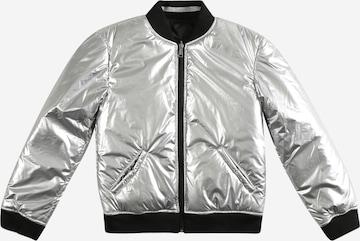 GUESS Between-season jacket in Silver