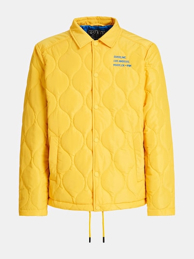 GUESS Steppjacke in gelb: Frontalansicht