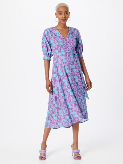 Closet London Šaty - modrá / ružová, Model/-ka