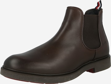 TOMMY HILFIGER Chelsea Boots in Braun
