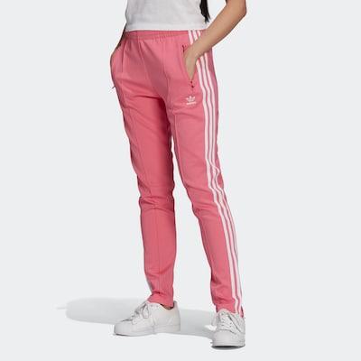 ADIDAS ORIGINALS Hose in pink / weiß, Modelansicht