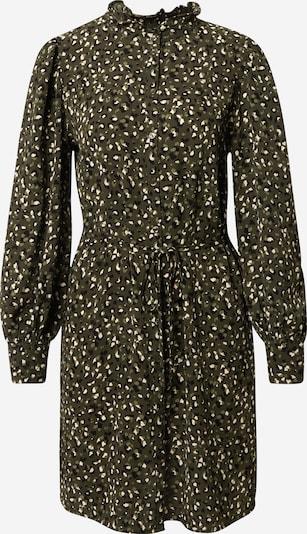 JACQUELINE de YONG Vestido camisero 'MILO' en verde claro / verde oscuro / negro / blanco, Vista del producto
