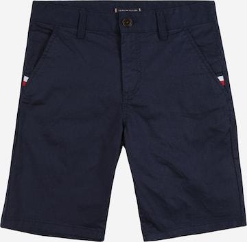 TOMMY HILFIGER Püksid 'Essential', värv sinine