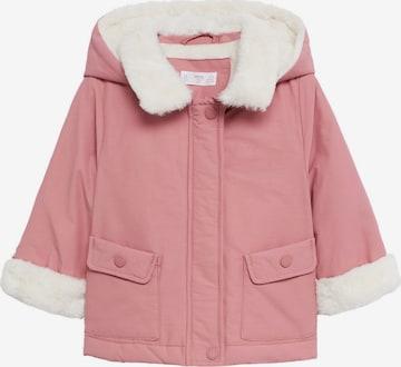 Geacă de primăvară-toamnă 'Victoria' de la MANGO KIDS pe roz