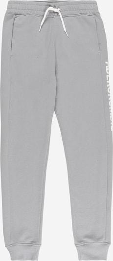 Abercrombie & Fitch Pantalon en gris / blanc, Vue avec produit