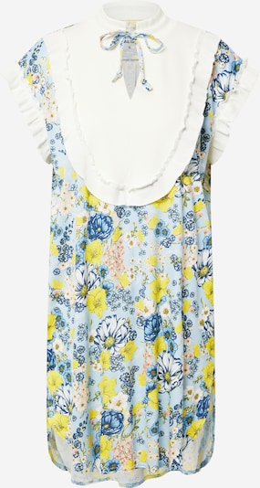 CALIDA Nightgown 'Story' in Royal blue / Light blue / Lime / White, Item view