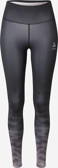 ODLO Pantalon de sport en gris clair / noir, Vue avec produit