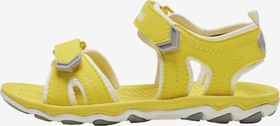 Hummel Sandals & Slippers in Yellow / White, Item view