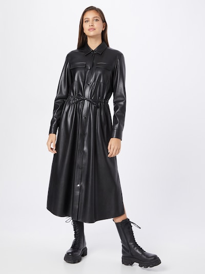 BOSS Kleid 'Daledy' in schwarz, Modelansicht