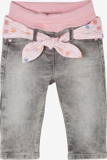 s.Oliver Jeans in grey denim / hellpink / weiß, Produktansicht