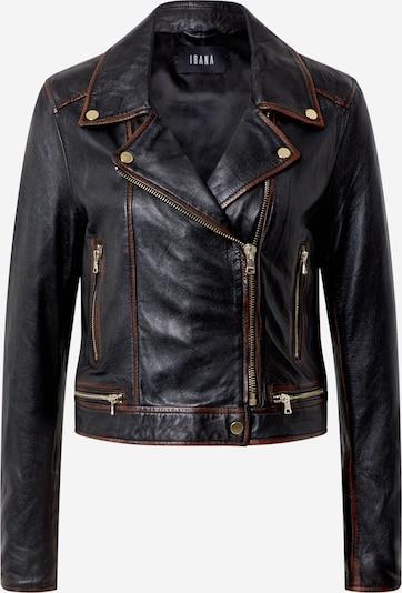 Ibana Jacke 'Renee-Vintage' in braun / schwarz, Produktansicht