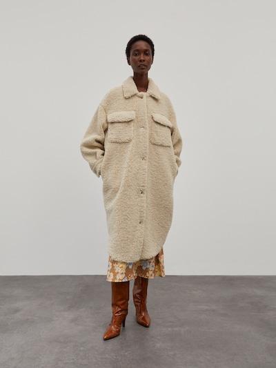 EDITED Mantel 'Henrietta' in creme, Modelansicht