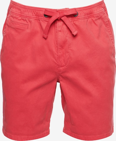 Superdry Pantalon en rouge clair: Vue de face