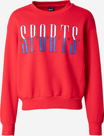 Gina Tricot Sweatshirt 'Daphne' in Royal blue / Red / White, Item view