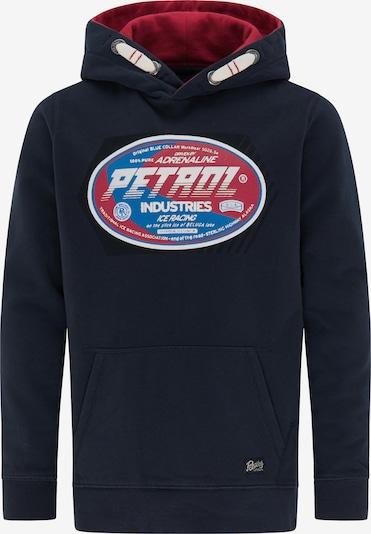 Petrol Industries Sweatshirt in blau / marine / rot / weiß, Produktansicht