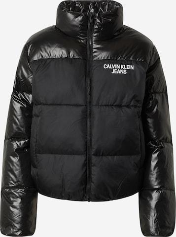melns Calvin Klein Jeans Ziemas jaka