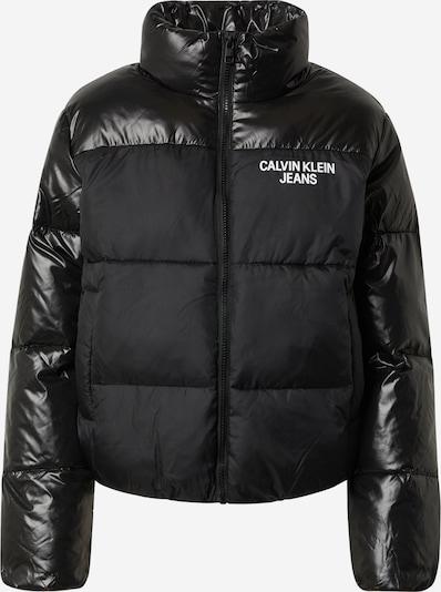 Calvin Klein Jeans Зимно яке в черно / бяло, Преглед на продукта