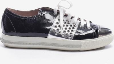 Miu Miu Schnürschuhe in 37 in schwarz / weiß, Produktansicht