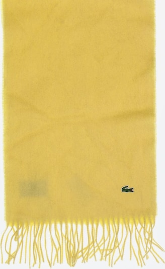 LACOSTE Scarf & Wrap in One size in Yellow, Item view