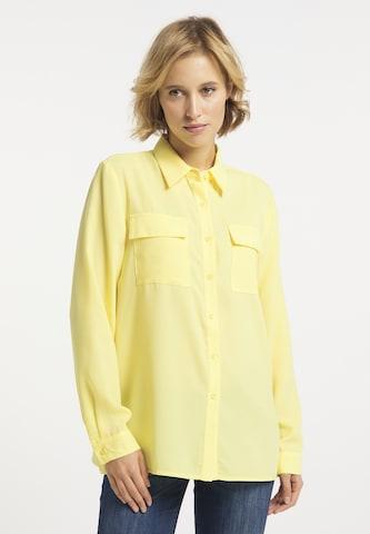 usha BLUE LABEL Bluse in Gelb