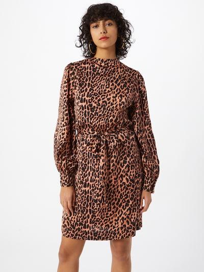 SCOTCH & SODA Kleid in braun / schwarz, Modelansicht