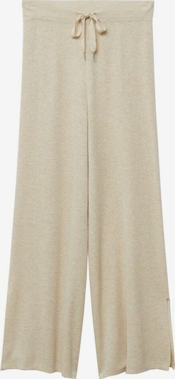 Pantaloni MANGO pe bej deschis, Vizualizare produs