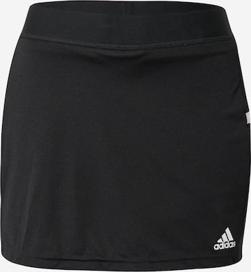 ADIDAS PERFORMANCE Spódnica sportowa 'Team 19' w kolorze czarny