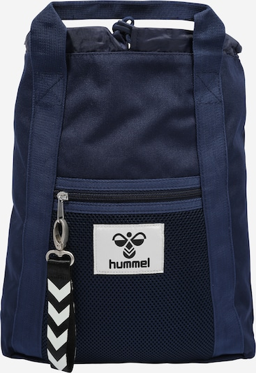 Hummel Mochila 'HIPHOP' en azul oscuro / blanco, Vista del producto