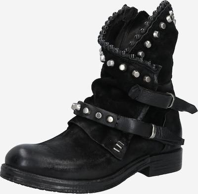 A.S.98 Biker Boots in schwarz, Produktansicht