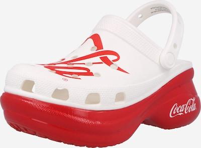 Crocs Clogs 'BAE Cola' in rot / weiß, Produktansicht
